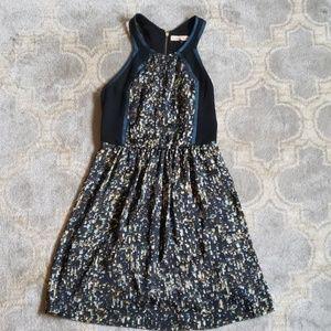 Rebecca Taylor confetti print dress